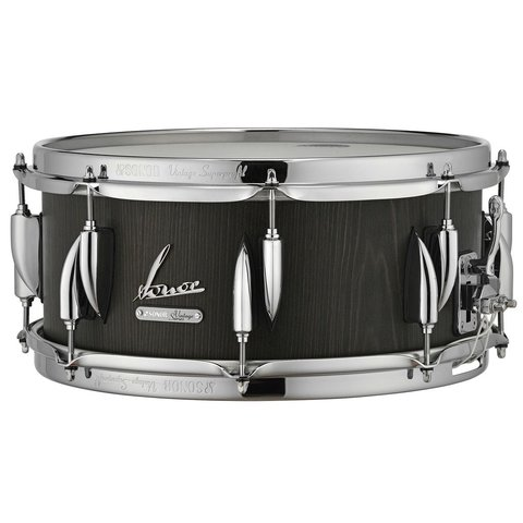 Sonor Vintage Series 5.75x14 Snare Drum in Vintage Onyx Finish