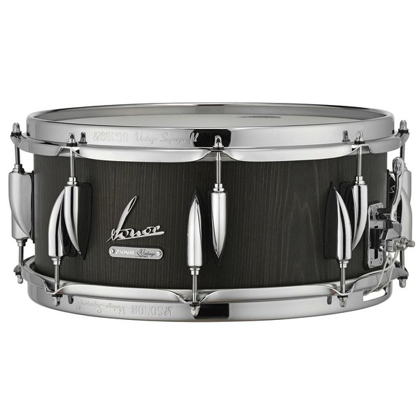 Sonor Sonor Vintage Series 5.75x14 Snare Drum in Vintage Onyx Finish