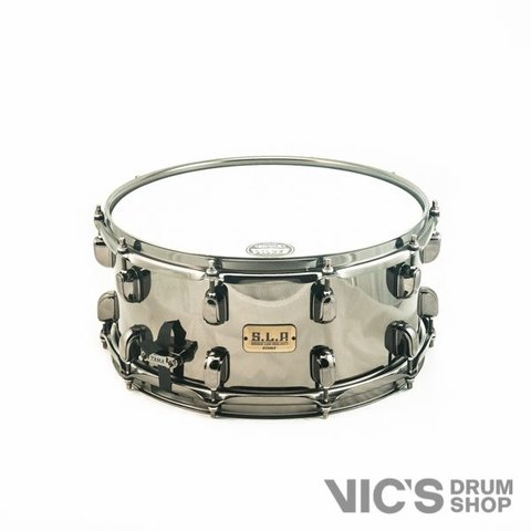 Tama SLP 6.5x14 Black Brass Snare Drum