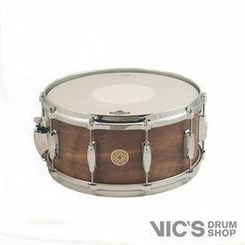 Gretsch Gretsch 130th Anniversary 6.5x14 Solid Claro Walnut 10 Lug Snare Drum