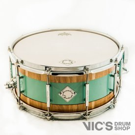 Acoutin Custom Leonova 6.5x14 Snare Drum