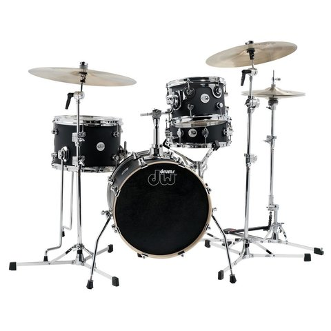 DW Design Mini Pro 4 Piece Shell Pack in Black Satin