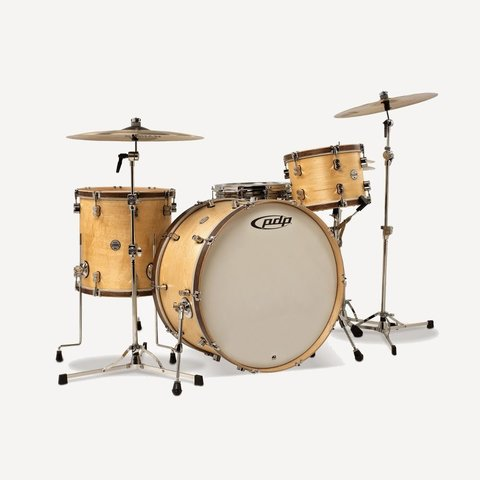 PDP Concept Maple Classic 3 Piece Shell Pack In Satin Natural