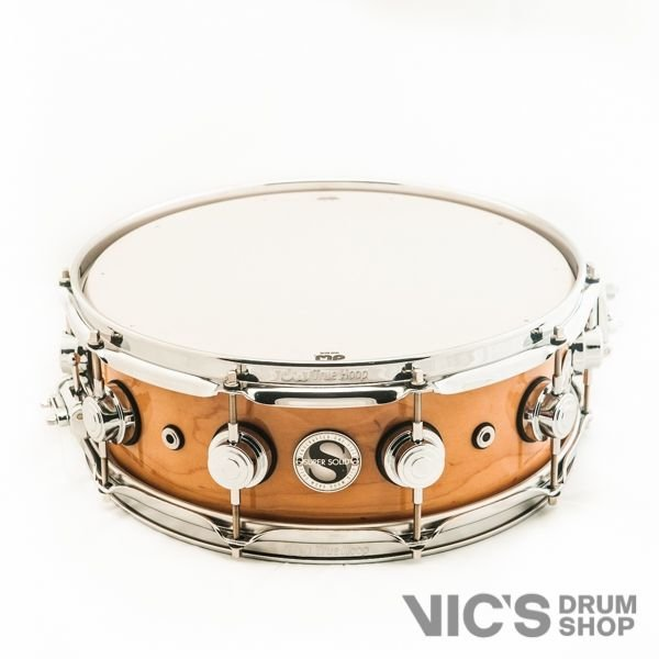 DW DW Collector's 5x14 Super Solid Maple Snare Drum