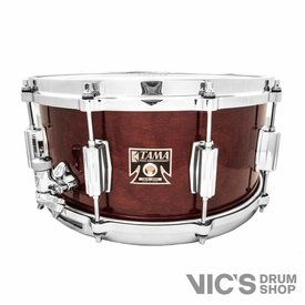 Tama Tama 40th Anniversary Superstar Birch 6.5x14 Snare Drum in Super Mahogany