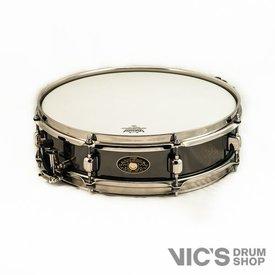 Tama Tama Signature Palette 4x15 Kenny Aronoff Trackmaster Super Piccolo Snare Drum; Autographed