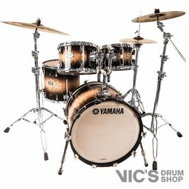 Yamaha Yamaha PHX Phoenix Clinic Kit 4 Piece Shell Pack in Textured Black Sunburst