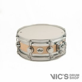 DW DW Collector's 5x13 Edge Snare Drum; Exotic Flame Maple Core