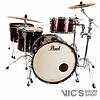 Pearl Reference Pure Clinic Kit, 3 Piece Shell Pack in Black Cherry Gloss (24/14/18)