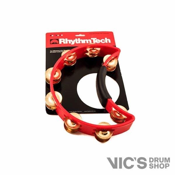 Rhythm Tech Rhythm Tech Tambourine; Red-Brass Jingles