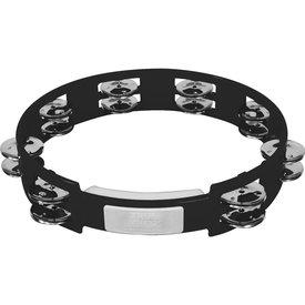 Rhythm Tech Rhythm Tech 10 True Colors Tambourine - Black