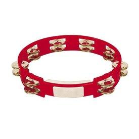 Rhythm Tech Rhythm Tech 10 True Colors Tambourine-Red