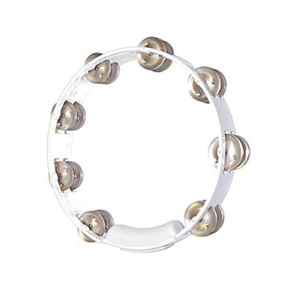 Rhythm Tech Rhythm Tech 10 True Colors Tambourine-White