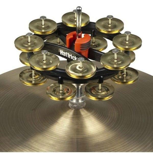 Rhythm Tech Rhythm Tech Double Hat Trick G2 (Brass)