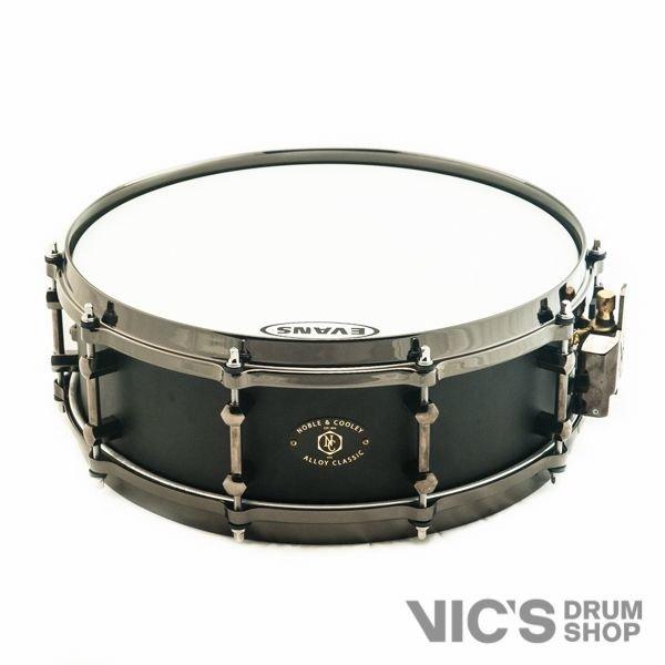 Noble & Cooley Alloy Classic 4.75x14 Cast Aluminum Snare Drum