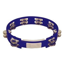 Rhythm Tech Rhythm Tech 10 True Colors Tambourine-Cobalt Blue