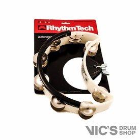 Rhythm Tech Rhythm Tech Drum Set Tambourine-Midnite Sun-Nickel Jingles