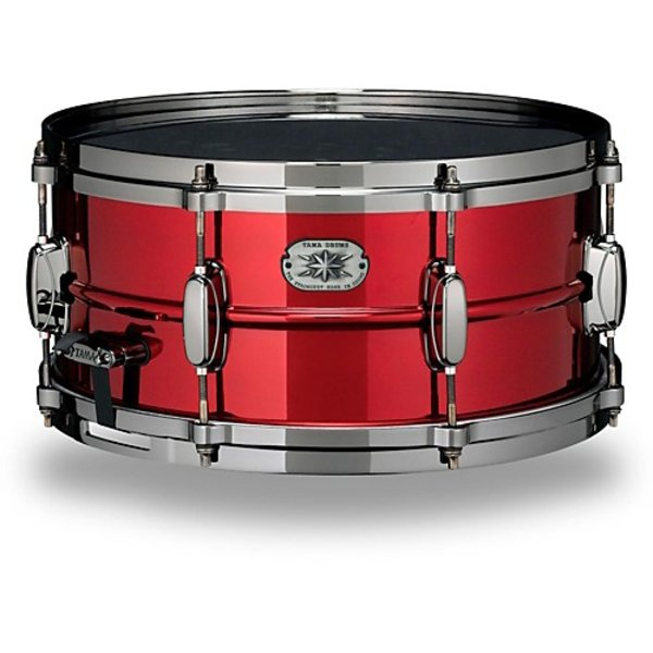 Tama Tama Limited Edition MetalWorks 6.5x14 Steel Snare Drum in Ruby Red