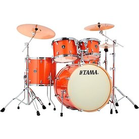 Tama Tama Superstar Classic 5 Piece Shell Pack In Bright Orange Sparkle