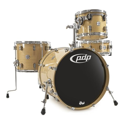 PDP Concept Maple 4 Piece Shell Pack In Natural Lacquer