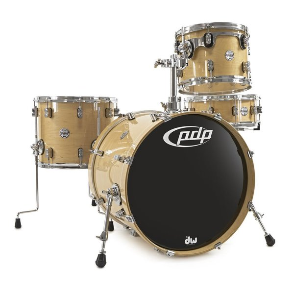 PDP PDP Concept Maple 4 Piece Shell Pack In Natural Lacquer