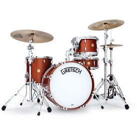 Gretsch Gretsch Broadkaster 4 Piece Shell Pack in Satin Copper; Modern Hardware