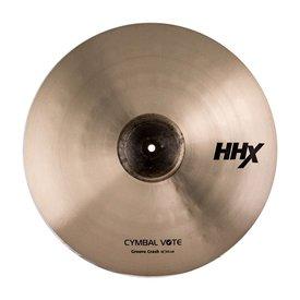 "Sabian Sabian Prototype HHX 18"" CymbalVote Groove Crash Cymbal"