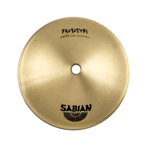 """Sabian Prototype 8"""" Brass Stage Bell Cymbal"""