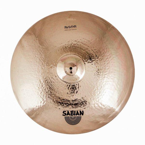 "Sabian Sabian Prototype HH 26"" Medium Ride Cymbal Brilliant"