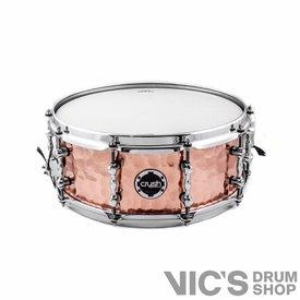 Crush Crush Hand Hammered 5.5x14 Copper Snare Drum