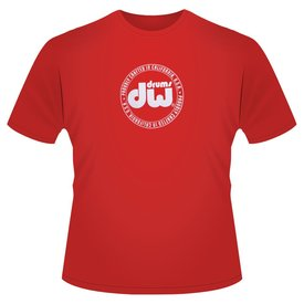 DW Red T-Shirt: Proudly Crafted In California, USA