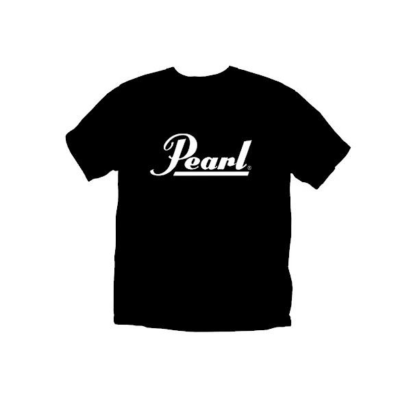 Pearl Pearl Logo The Best Reason to Play Drums T-Shirt