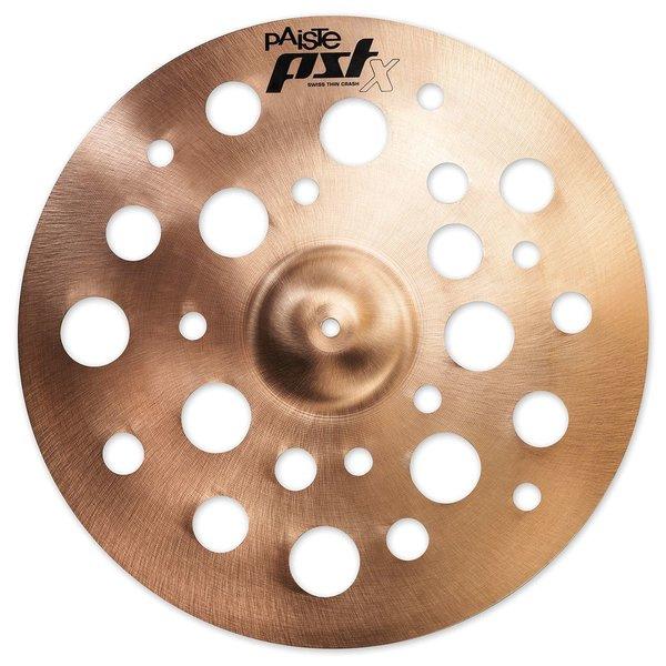 "Paiste Paiste PSTX 16"" Swiss Thin Crash Cymbal"