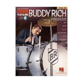 Hal Leonard Buddy Rich Drum Play-Along; Book w/ Interactive Audio