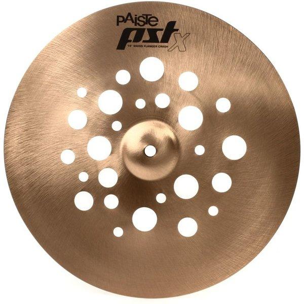 """Paiste Paiste PSTX 14"""" Swiss Flanger Crash Cymbal"""