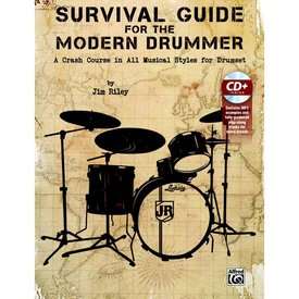 Alfred Publishing Survival Guide for the Modern Drummer by Jim Riley; Book & CD