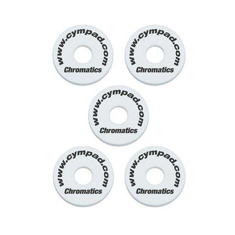 Cympad Chromatics Set 40/15mm WHITE (5-pieces) Crash
