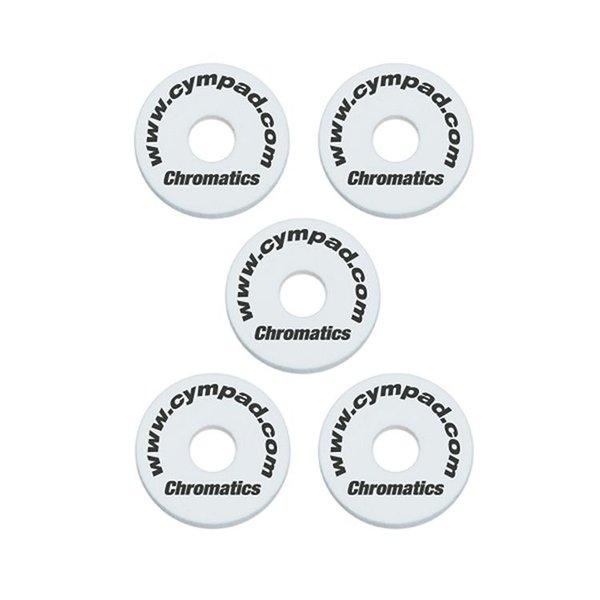 Cympad Cympad Chromatics Set 40/15mm WHITE (5-pieces) Crash