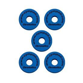Cympad Cympad Chromatics Set 40/15mm BLUE (5-pieces) Crash