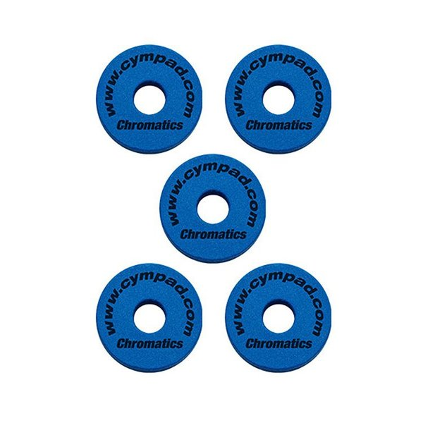 Cympad Cympad Chromatics Set 40/15mm BLUE (5-pieces) Crash