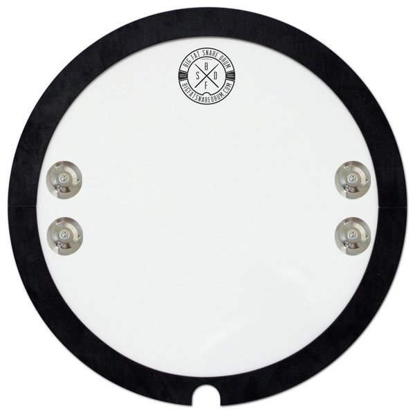 "Big Fat Snare Drum 13"" ""Snare-Bourine"" Snare Drum Topper"