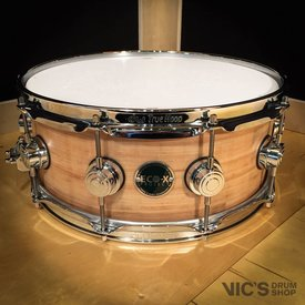 DW DW Eco-X 5.5x14 Snare Drum in Banana Finish