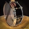 Sakae 5.5x14 Birch Snare Drum in Real Black