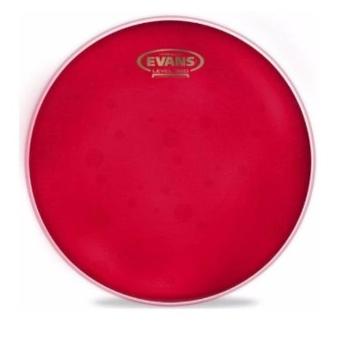 "Evans Hydraulic Red 12"" Tom Drumhead"