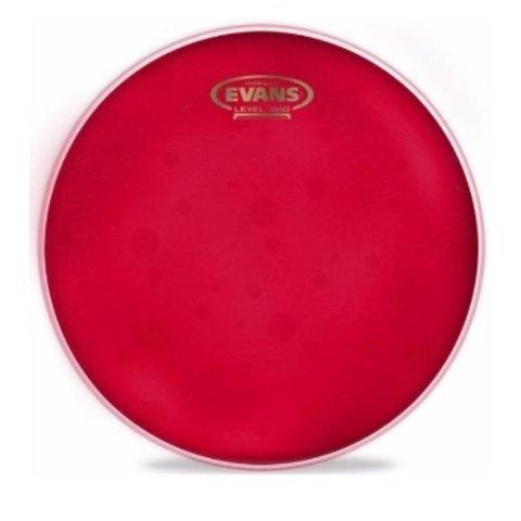 "Evans Hydraulic Red 15"" Tom Drumhead"