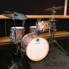 Sakae Sakae Trilogy 3 Piece Bop Shell Pack in Pink Oyster Pearl Finish