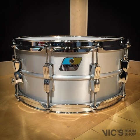Ludwig USA Acrolite 6.5x14 Aluminum Shell Snare Drum