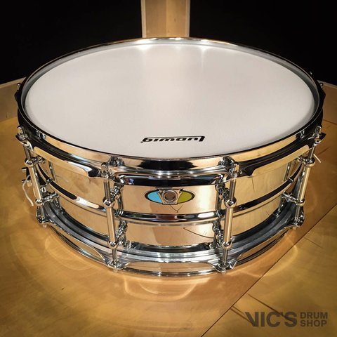 Ludwig Supralite 5.5x14 Steel Snare Drum