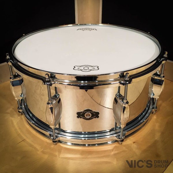 Dunnett George Way Hollywood 6.5x14 Heavy Brass Snare Drum