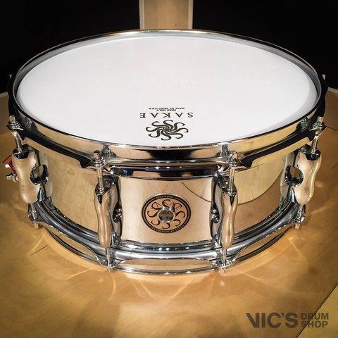 Sakae 5.5x14 Steel Snare Drum